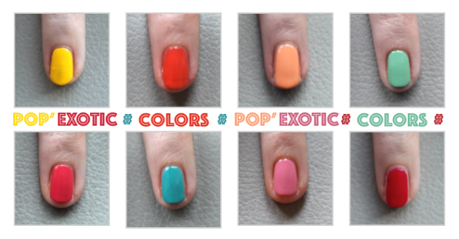 popexotic colors