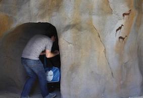 grotten richting Kaapse Buffels, een ontdekkingsroute... plezier voor groot en klein
