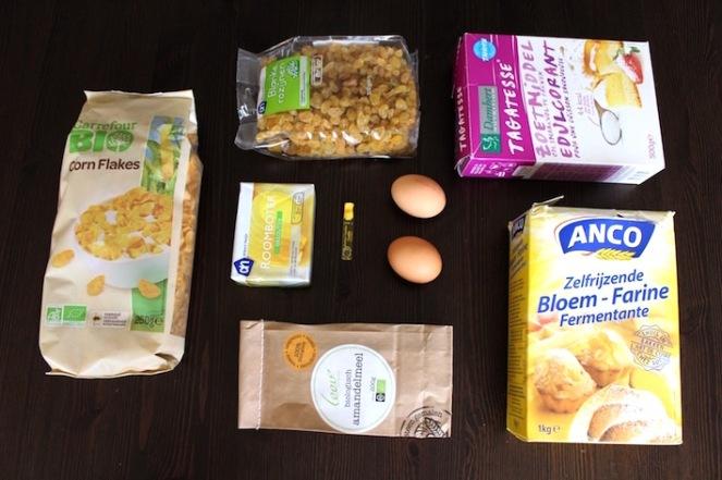 ingredie%cc%88nten-voor-amandel-corn-flakes-koekjes