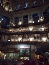museo nazionale del cinema - weg naar boven en glazen lift