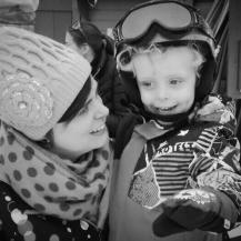 Me & mijn kleine skikampioen