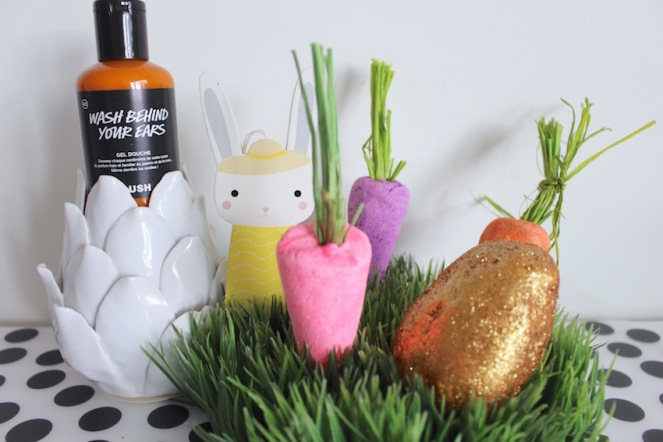 Smullen van Lush_ Limited Lente & Paas Collectie-Bunch of carrots-Wash behind your ears-Golden Egg