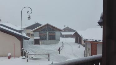 st martin de belleville - sneeuw -6° waar is den berg gebleven