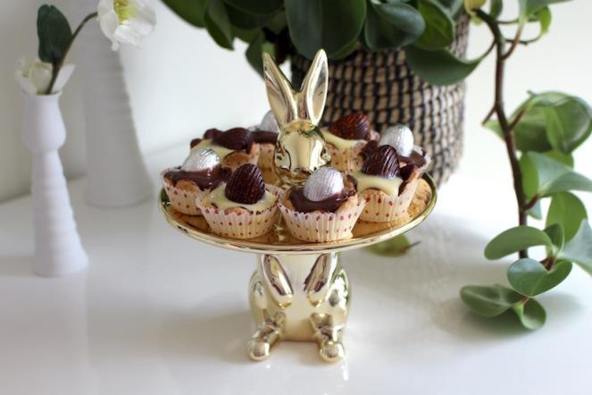 tartelette danette - hemelse lente gebakjes met paaseitjes