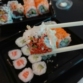 bezienswaardigheden tilburg - sumo sushi - sushi & shopstick