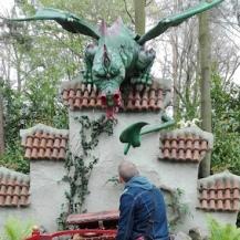 Efteling - draak en de gouden kroon