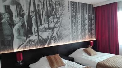 Tilburg - logeren -hotel bastion - kamer