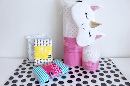 shoplog eindhoven - primark - wattenschijfje wattenstaafjes tissues vochtige doekje en oogmasker
