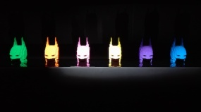 Expo 'The art of the bricks - batman masks