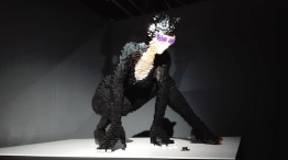 Expo 'The art of the bricks - catwoman