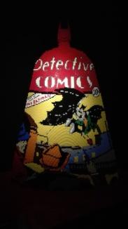 Expo 'The art of the bricks - comics cape