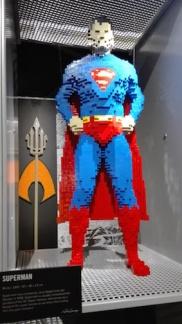 Expo 'The art of the bricks - superman