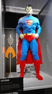 Expo 'The art of the bricks - superman
