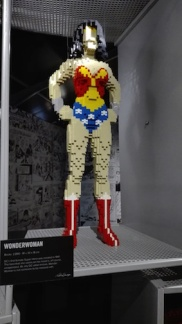 Expo 'The art of the bricks - wonder woman