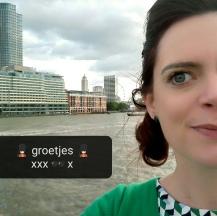Londen is calling - groetjes