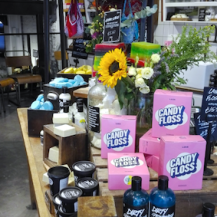 Lush oxford street london - productjes ontdekken