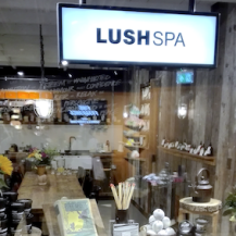 Lush oxford street london - spa