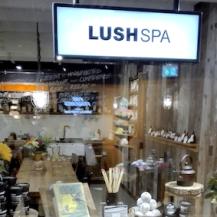 Lush oxford street london - spa