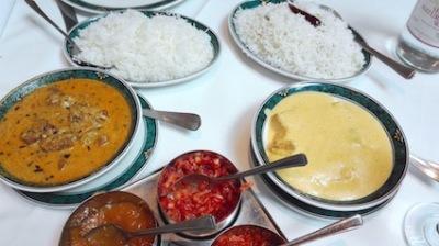 Malbar Junction - korma en rijst