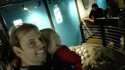 natuurhistorisch museum londen - dino baby bezoek