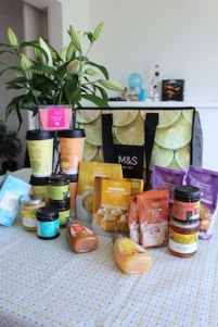 shoplog Marks and Spencer Food - zoete en hartige must haves uit m&s food