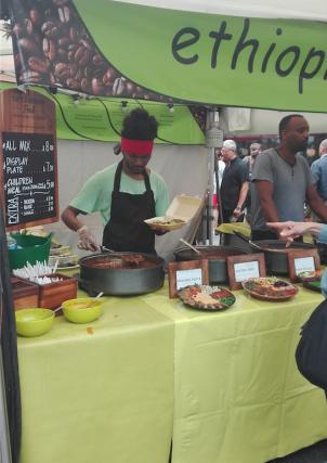 Southbank Centre Food Market - wereldkeuken