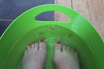 Lush voetcare - Foot Soak - voetbadje