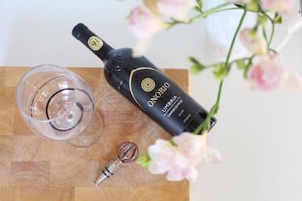 Onorio - elegante italiaanse rode wijn uit Umbrië