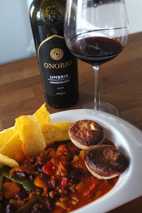 Onorio - foodpairing met chili con carne