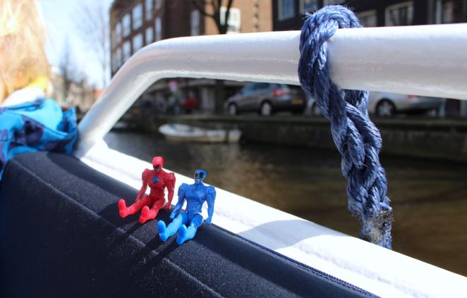 groetjes vanop de Amsterdamse grachten - canal cruise