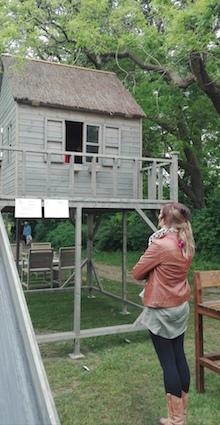 Tuindagen Beervelde - speelhuisje