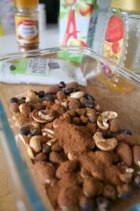 Herbalife ontbijt ijsjes - nootjes karameliseren