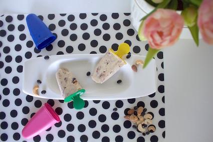 Herbalife ontbijt ijsjes - ontbijt ijsjes met banaan en kaneel en noten